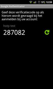 OPT Google Authenticator